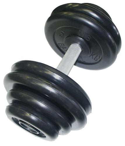 Гантельный ряд MB Barbell Профи 10 пар  от 11 до 33,5 кг. с шагом 2 ... 89a2d4b720b